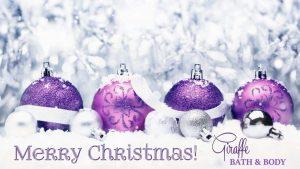 CHRISTMAS GIRAFFE BALLS